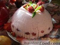 Фото к рецепту: Торт творожно-йогуртовый, диетический