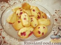 Фото к рецепту: Печенье Мадлен (Madeleine)