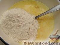Фото приготовления рецепта: Оладьи из простокваши - шаг №3