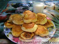 Фото приготовления рецепта: Оладьи из простокваши - шаг №7