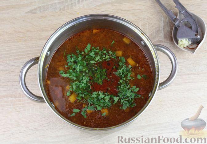 Фото приготовления рецепта: Куриное филе, запечённое с морковью и луком - шаг №7
