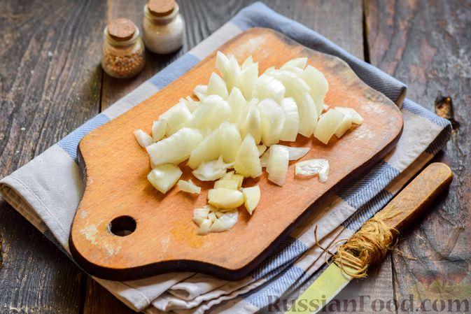 Фото приготовления рецепта: Куриные котлеты с брокколи - шаг №3