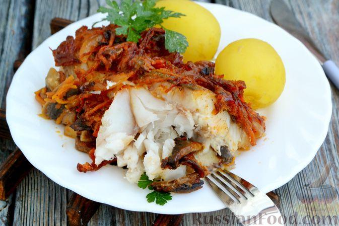 Фото приготовления рецепта: Форель, запечённая с картофелем - шаг №6