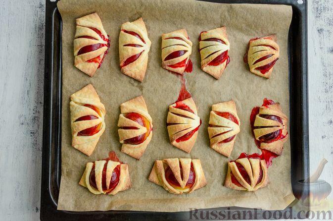 Фото приготовления рецепта: Творожные багеты - шаг №6