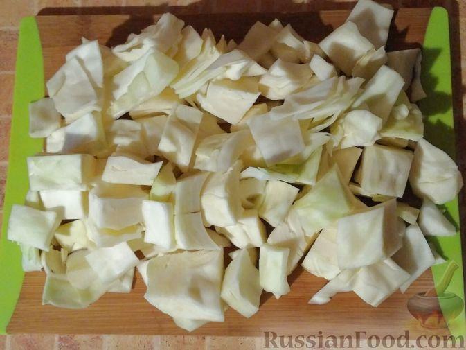 Фото приготовления рецепта: Овощное рагу с говяжьими рёбрышками - шаг №3
