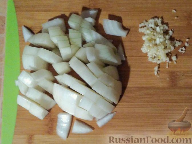 Фото приготовления рецепта: Овощное рагу с говяжьими рёбрышками - шаг №5