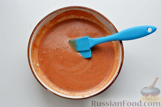 Фото приготовления рецепта: Капуста, морковь и сельдерей, запечённые с пряностями (в духовке) - шаг №4