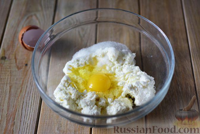 Фото приготовления рецепта: Пирожки с яйцом и зелёным луком (в духовке) - шаг №3