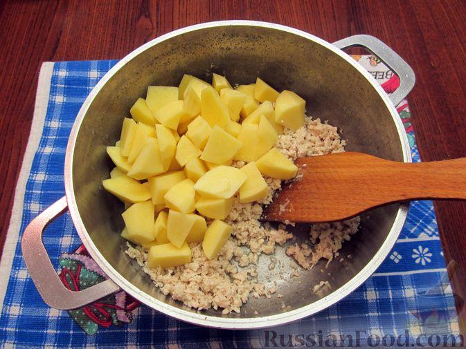 Фото приготовления рецепта: Суп «Чехословацкий» - шаг №3