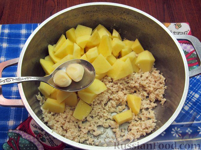 Фото приготовления рецепта: Суп «Чехословацкий» - шаг №4