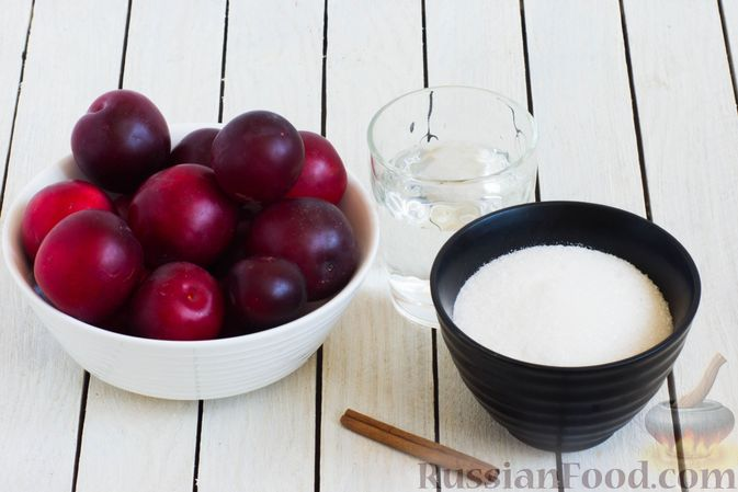 Фото приготовления рецепта: Джем из алычи с корицей (на зиму) - шаг №1