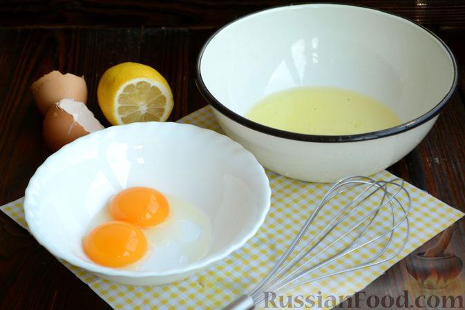 Фото приготовления рецепта: Суп с куриными фрикадельками и яично-лимонной заправкой - шаг №9