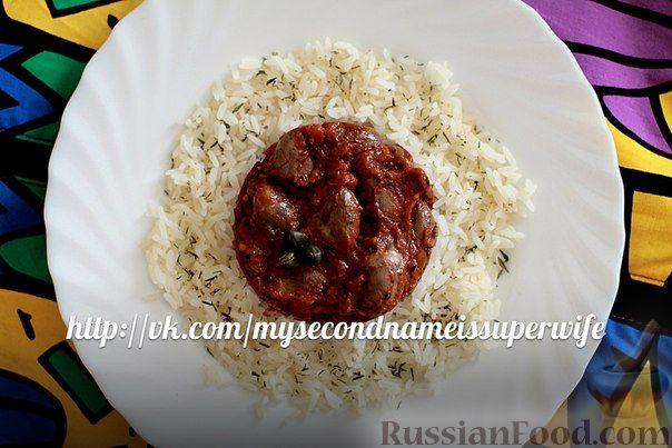 Рецепт Куриные сердечки в соусе