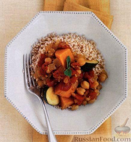 Рецепт Овощное рагу с нутом и бататом