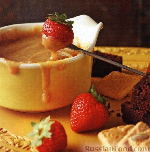 Рецепт Сладкое фондю со сгущенным молоком (в медленноварке)