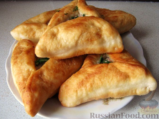 Рецепт Беляши с куриным мясом