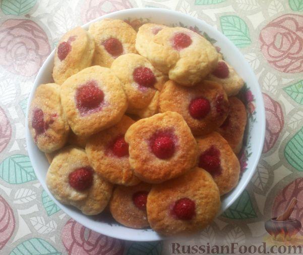 Рецепт Дачные печеньки на сметане