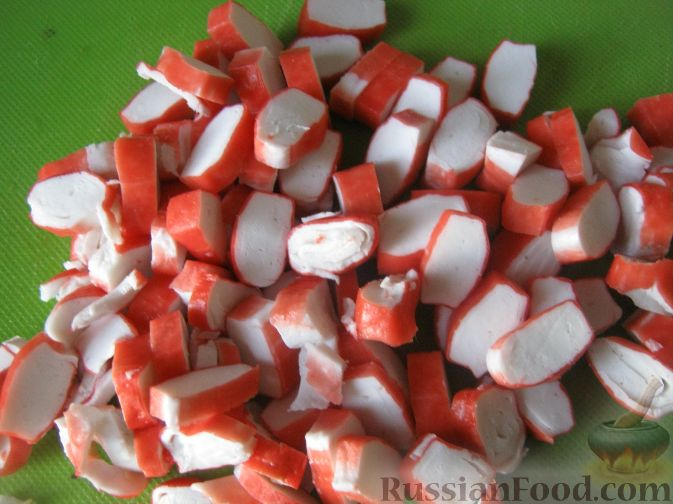 салат сырная хрустяшка рецепт с фото