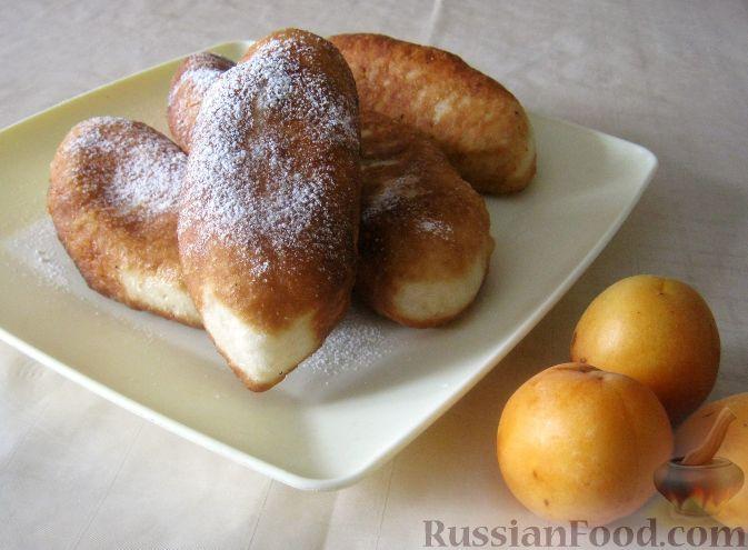 Рецепт Жареные пирожки с абрикосами