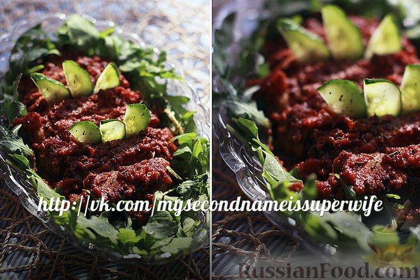 Рецепт Отбивная из свинины под томатами