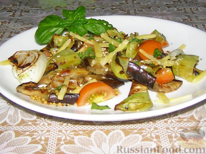 Рецепт Гриль-салат с сыром