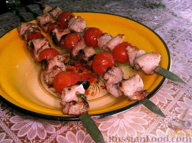 Рецепт Шашлыки из свиной вырезки