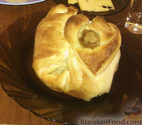 Рецепт Куриная голень в мешочке