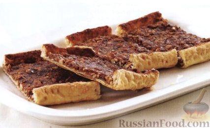 Рецепт Слоеные коржики с орехами и корицей