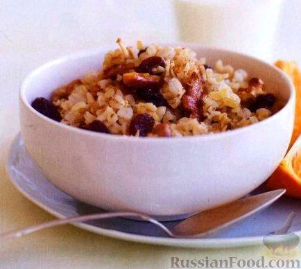 Рецепт Полезный злаковый завтрак