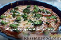 Фото к рецепту: Пицца с брокколи