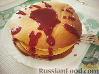 Фото к рецепту: Панкейки (Pancakes)