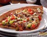 Фото к рецепту: Пицца на гриле