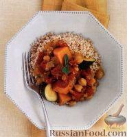 Фото к рецепту: Овощное рагу с нутом и бататом