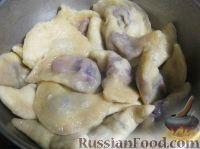 """Фото к рецепту: Вареники с вишнями """"От Солохи"""""""