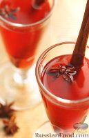 Фото к рецепту: Согревающий коктейль с пряностями (в медленноварке)