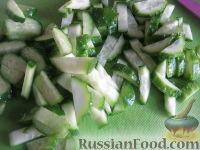 """Фото приготовления рецепта: Салат """"Сырная хрустяшка"""" - шаг №6"""