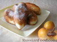 Фото к рецепту: Жареные пирожки с абрикосами