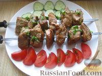 Фото к рецепту: Простой свиной шашлык