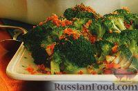 Фото к рецепту: Запеченная брокколи под хрустящей корочкой