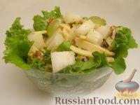 Фото к рецепту: Салат с дыней и сыром