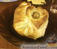Фото к рецепту: Куриная голень в мешочке