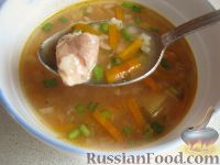 Фото к рецепту: Экономный рыбный суп