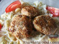 Фото к рецепту: Нежные рыбные фрикадельки (котлетки)