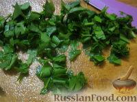 Фото приготовления рецепта: Паста с морским коктейлем и свежими помидорами - шаг №14