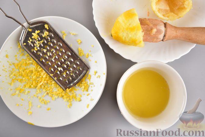 Фото приготовления рецепта: Рулет из моркови, с грецкими орехами и кокосовой стружкой - шаг №3