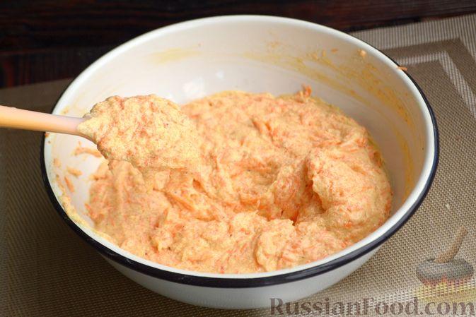 Фото приготовления рецепта: Запеканка из цветной капусты с колбасой и сыром - шаг №9