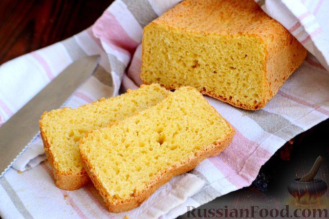 Фото к рецепту: Кукурузный хлеб на кефире