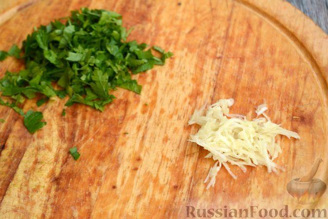 Фото приготовления рецепта: Суп с куриными желудками, цветной капустой и кускусом - шаг №11