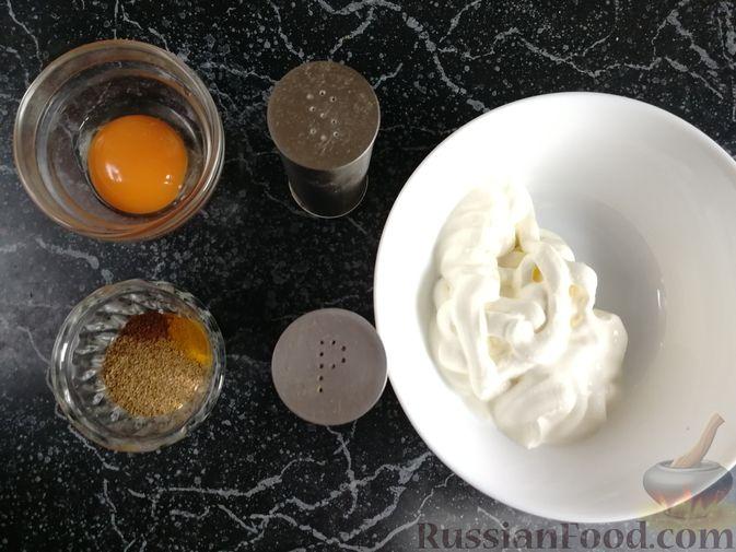 Фото приготовления рецепта: Запеканка из лаваша с рисом, цветной капустой, брокколи и сладким перцем - шаг №12