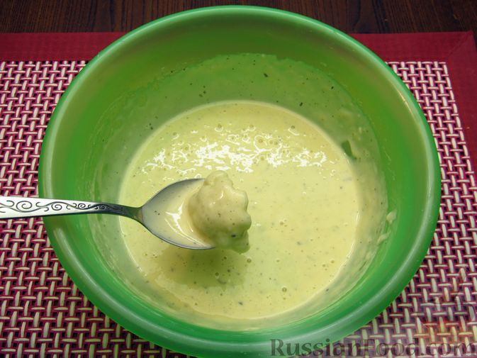 Фото приготовления рецепта: Жареная цветная капуста в кляре на минеральной воде - шаг №12